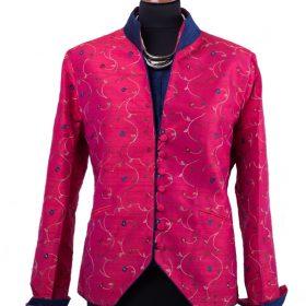 Kurz Jacke  aus 100% Seide